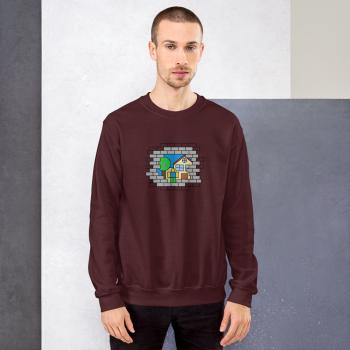 Brick Scene Sweatshirt